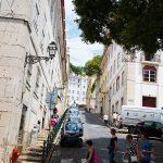 Lisbonne - rue dans Alfama